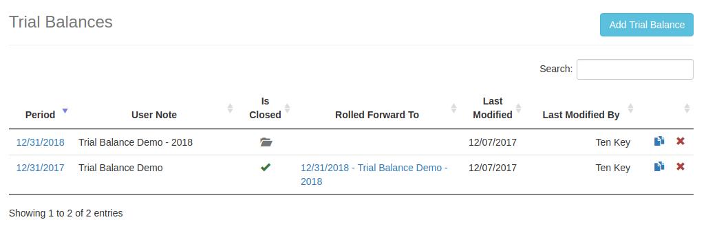ATB - Accountant's Trial Balance Software